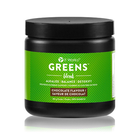 It Works Greens - Chocolat