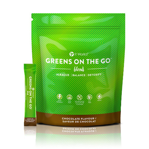 It Works Greens on the Go - Chocolat