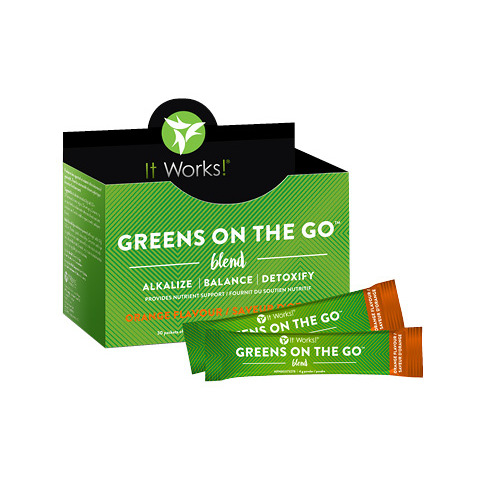 It Works Greens on the Go - Orange