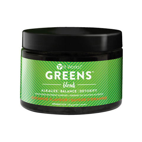 It Works Greens - Orange