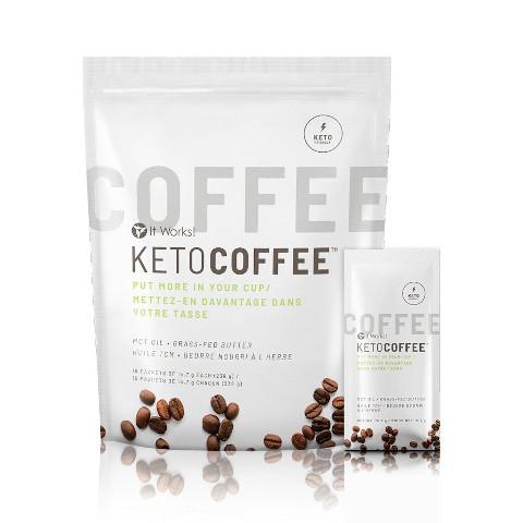 It Works Keto Coffee - Ketosis Optimizer
